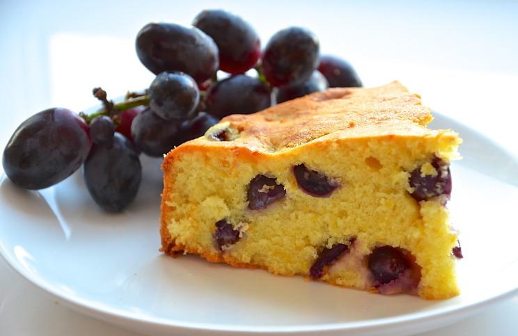 Рецепт Пирог с виноградом