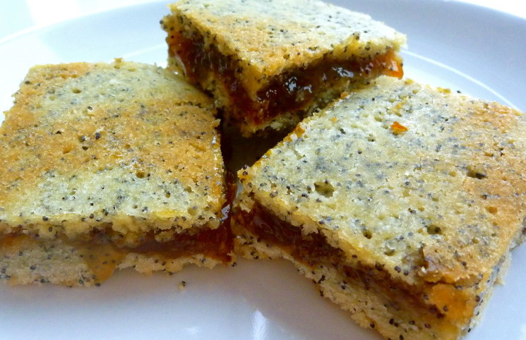 Рецепт Печенье с маком и вареньем