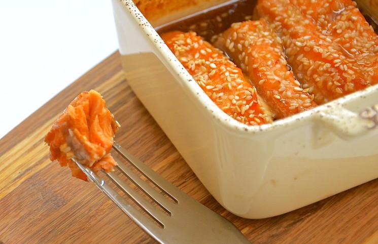 Рецепт Рыба в медово-лимонном маринаде