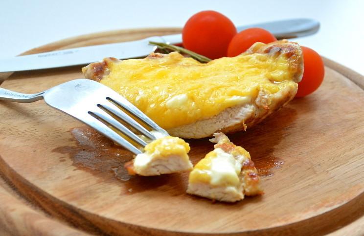 Рецепт Отбивная под сыром