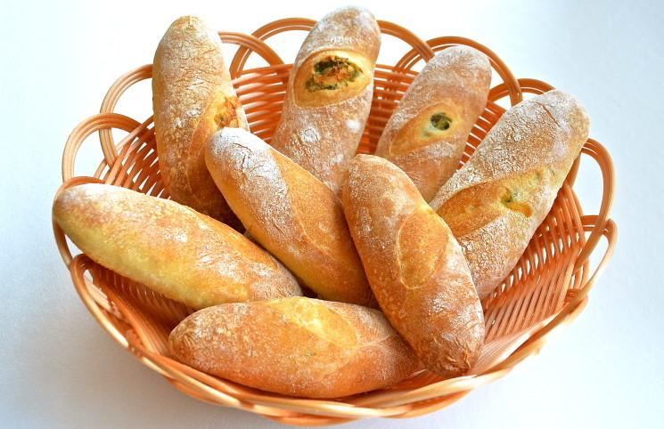 Рецепт Хлебцы с чесноком и укропом