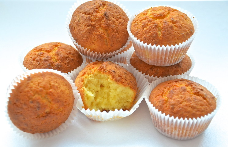 рецепт кексов творожные