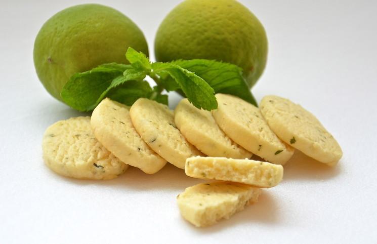 Рецепт Печенье лайм плюс мята