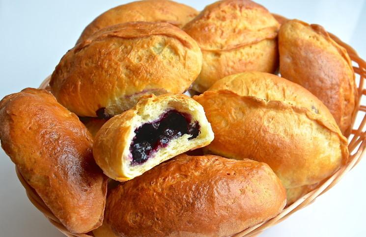 Рецепт Пирожки с черникой