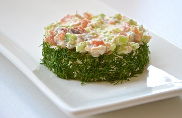 Рецепт Бутерброд с красной рыбой