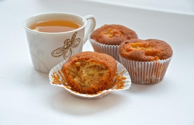 Рецепт Маффины с медом и яблоками