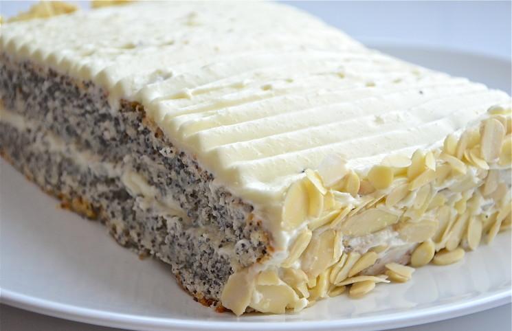 Рецепт Торт маковый