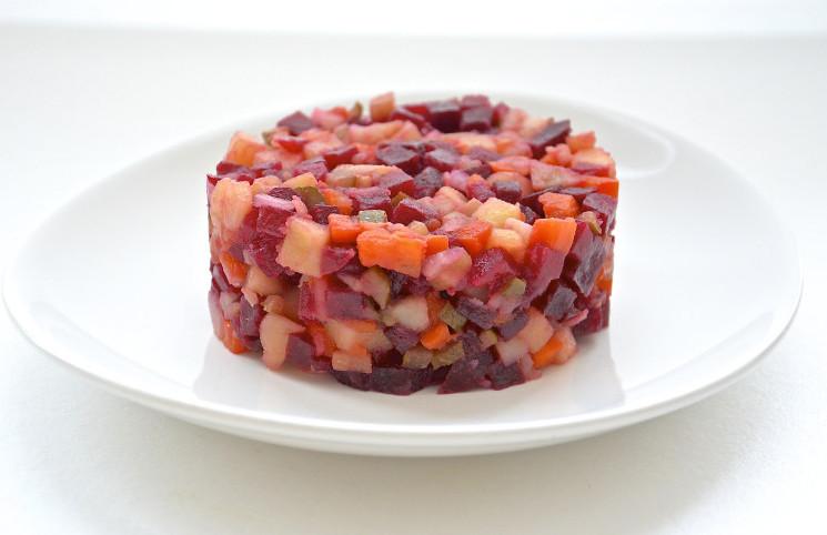 Рецепт Овощной салат со свеклой