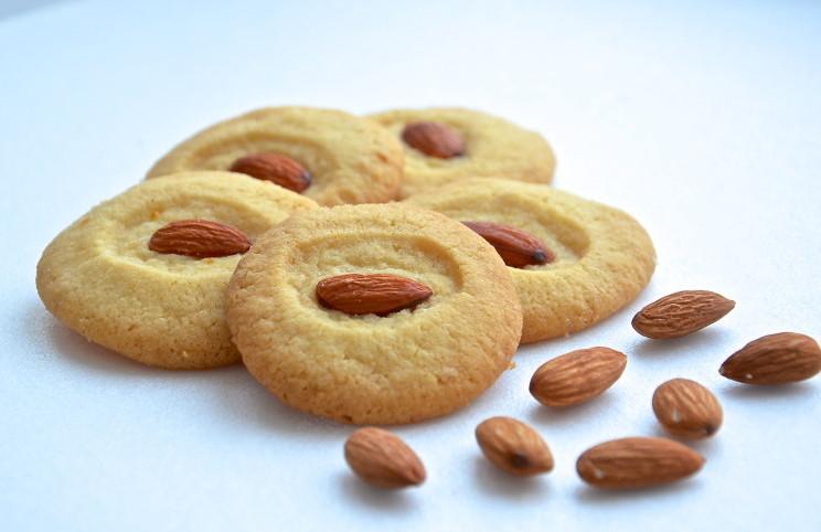 Рецепт Песочное печенье с лимоном и орешками