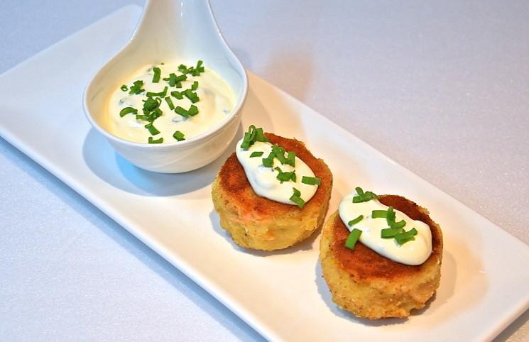 Рецепт Картофельные котлеты с рыбой