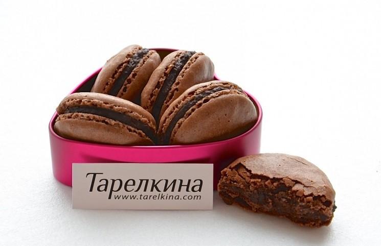 Рецепт Шоколадные макаруны