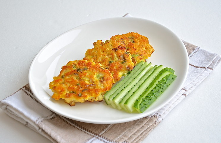 Рецепт Рыбные оладушки