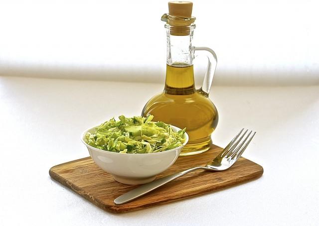 Рецепт Салат капустный с огурцом