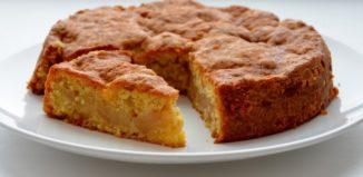 Рецепт Пирог яблочный с овсянкой