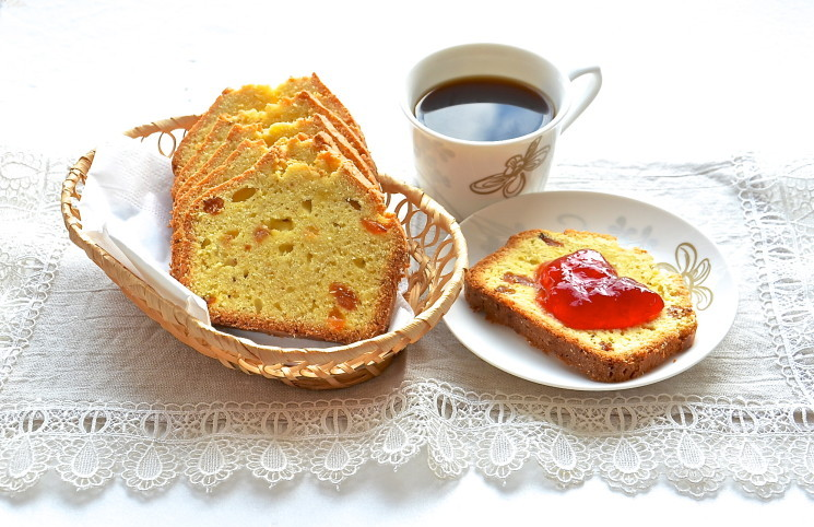Рецепт Лимонный кекс с изюмом