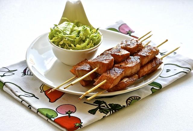 Рецепт Рыбные шашлычки
