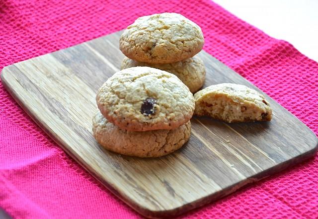 Рецепт Овсяное печенье с белым шоколадом