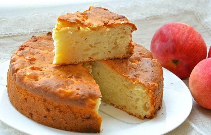 Видео рецепт яблочного пирога в духовке