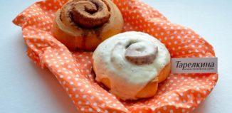 Рецепт Булочки Cinnamon rolls