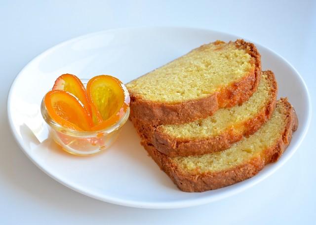 Рецепт Пирог с апельсиновым конфи
