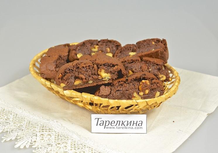 Шоколадные бискотто