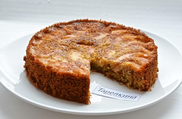 Рецепт Овсяная запеканка с медом и яблоками
