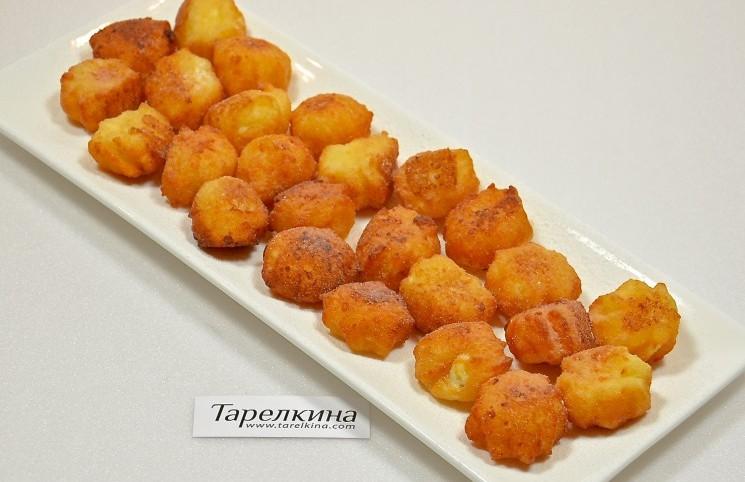 Рецепт Пончики творожные