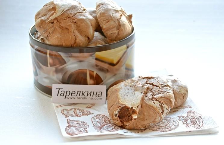 Рецепт Безе шоколадное