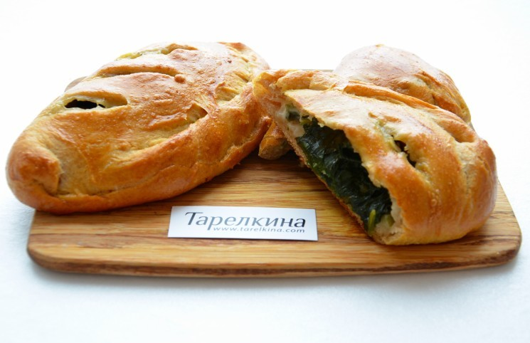 Рецепт Пирожки со шпинатом и сыром