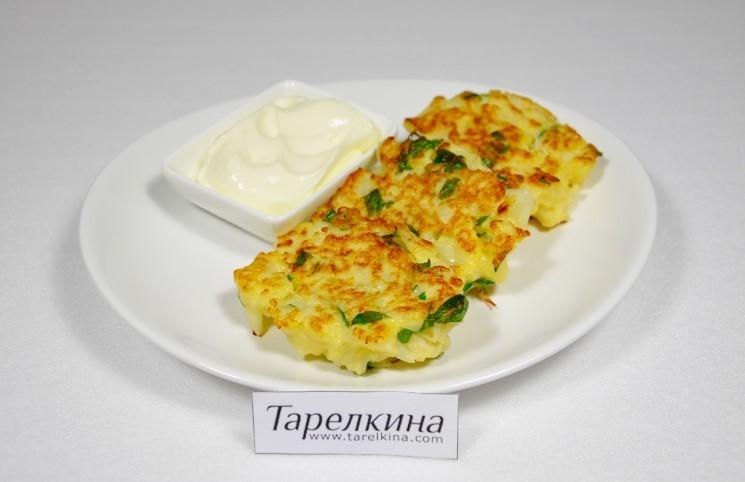 Рецепт Оладьи из цветной капусты