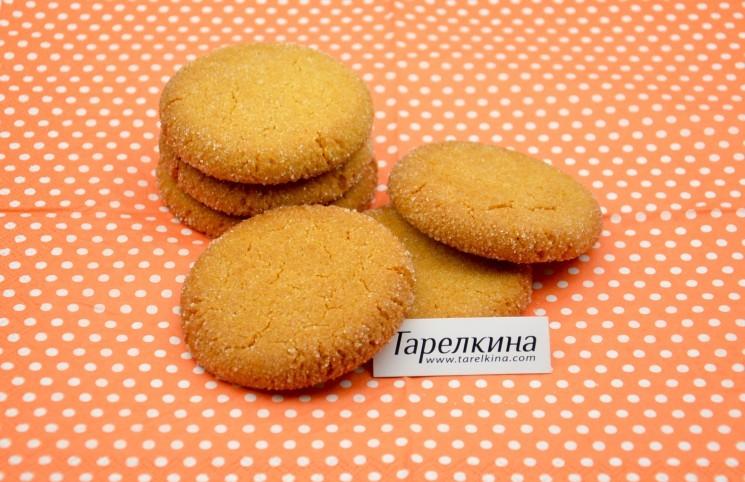 Рецепт Медово-имбирное печенье