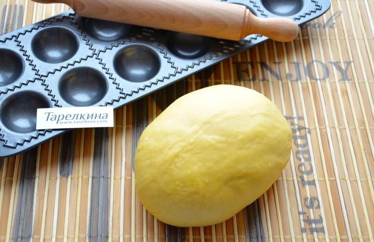 Рецепт Тесто для пасты и равиоли