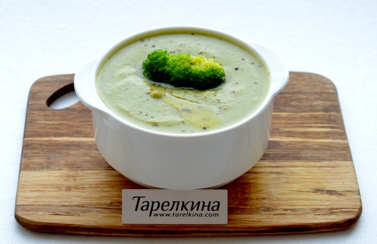 Рецепт Суп-пюре из брокколи