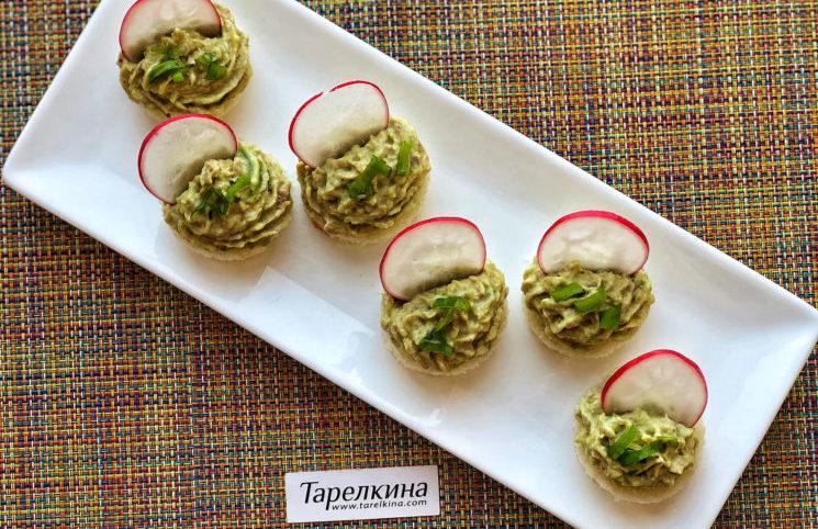 Паштет из тунца и авокадо