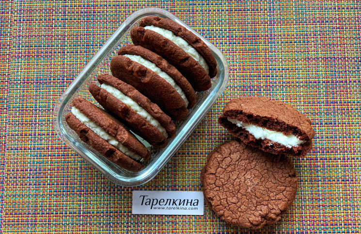 Печенье-сэндвич Баунти