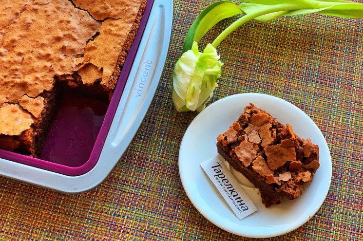 Шоколадный пирог без глютена